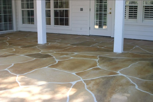 stamped concrete flagstone twin falls idaho